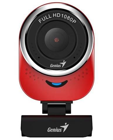 Webkamera Genius QCam 6000, Full HD červená