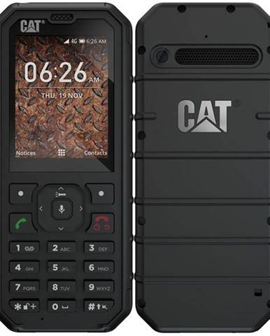 Mobilný telefón Caterpillar B35 4G Dual SIM čierny