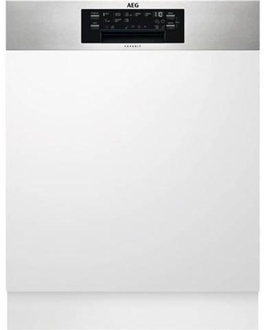 Umývačka riadu AEG Mastery Fee63716pm nerez
