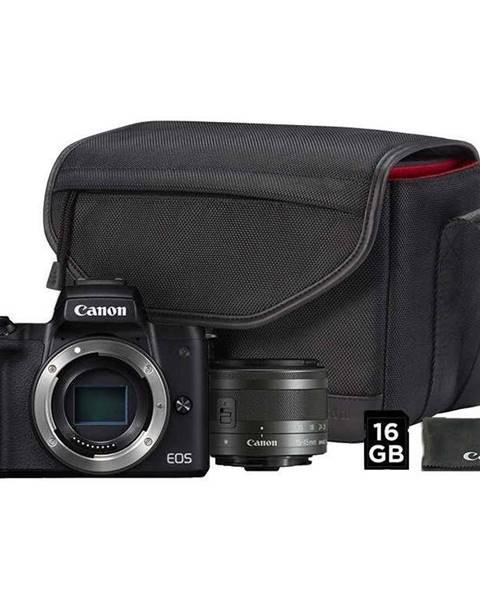 Canon Digitálny fotoaparát Canon EOS M50 + M 15-45 IS STM + SB130 + 16 GB