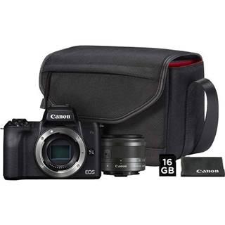 Digitálny fotoaparát Canon EOS M50 + M 15-45 IS STM + SB130 + 16 GB