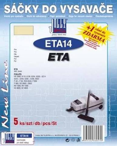 Sáčky pre vysávače Jolly ETA 14