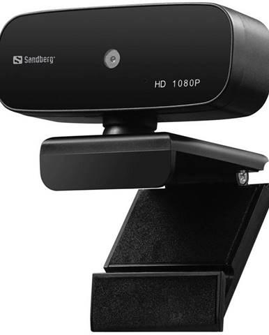 Webkamera Sandberg Webcam Autofocus 1080p čierna