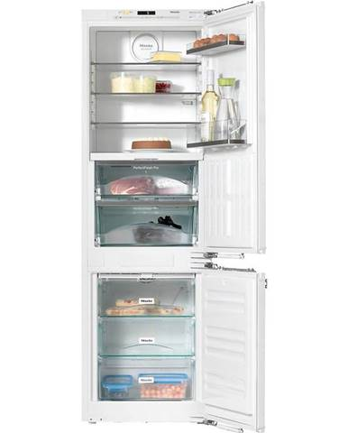 Kombinácia chladničky s mrazničkou Miele KFN 37682 iD vestavn
