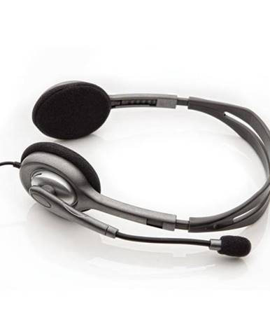 Headset  Logitech H110 čierny