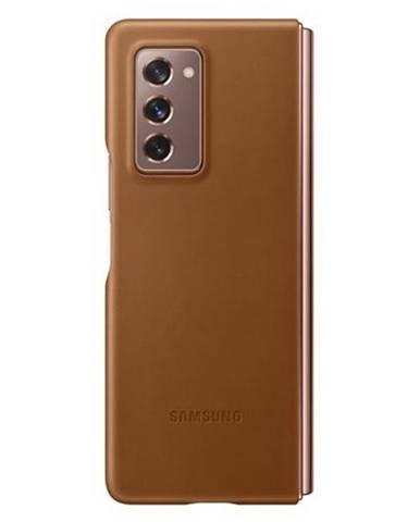 Kryt na mobil Samsung Z Fold2 hnedý
