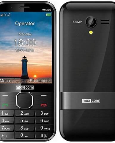Mobilný telefón MaxCom MM330 čierny
