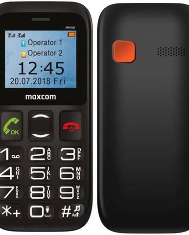 Mobilný telefón MaxCom MM426 čierny