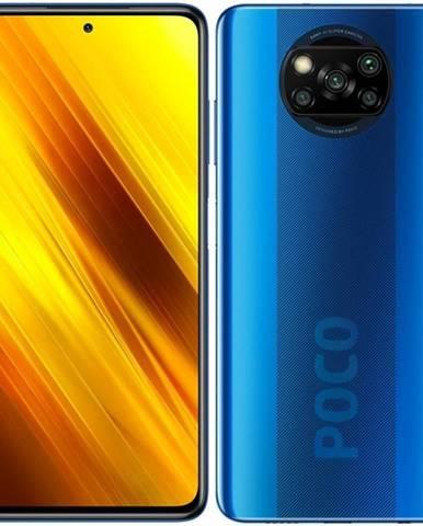 Mobilný telefón Poco X3 64 GB modrý
