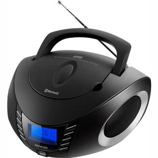 Rádioprijímač s CD Sencor SPT 3600 čierny/strieborn