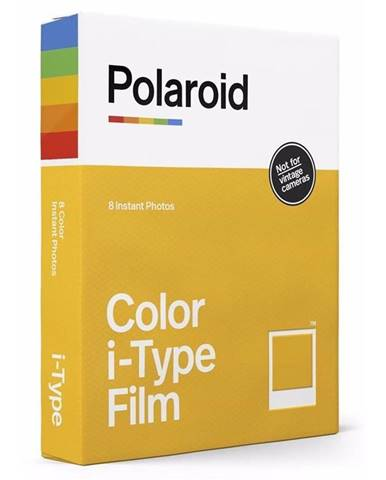 Instantný film Polaroid Color i-Type Film 8ks