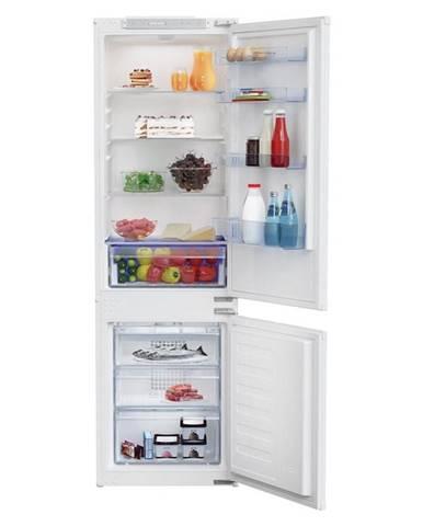 Kombinácia chladničky s mrazničkou Beko Bcha275e4sn biele