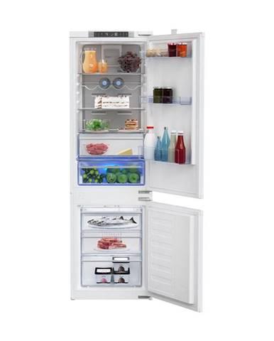 Kombinácia chladničky s mrazničkou Beko Bcna275e4sn biele