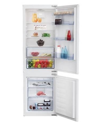 Kombinácia chladničky s mrazničkou Beko Bcsa285k3sn biele