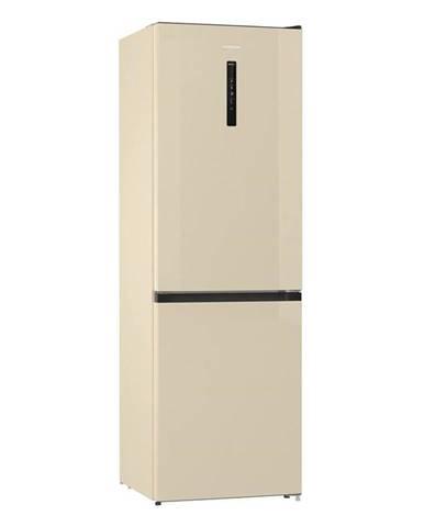 Kombinácia chladničky s mrazničkou Gorenje Nrk6192ac4 béžov