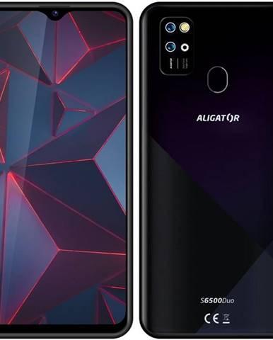 Mobilný telefón Aligator S6500 čierny
