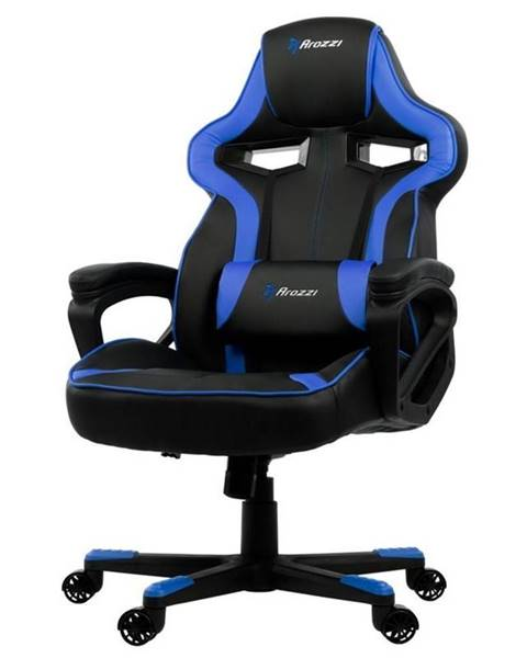 Arozzi Herná stolička Arozzi Milano čierna/modrá