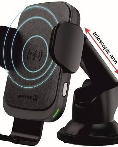 Držiak na mobil Swissten S-Grip W2-HK3 s bezdrátovým nabíjením