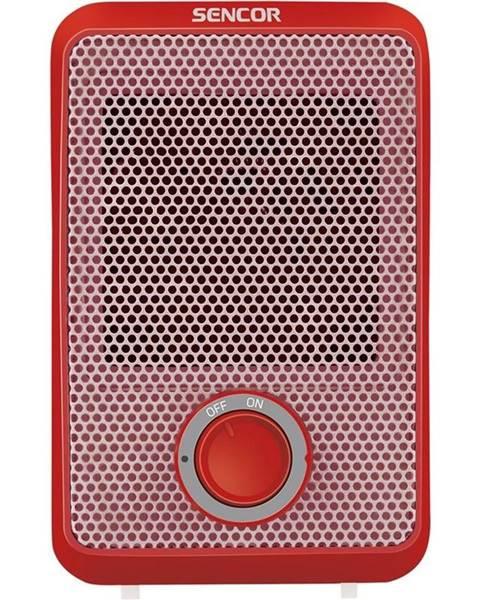 Sencor Teplovzdušný ventilátor Sencor SFH 6011RD červen