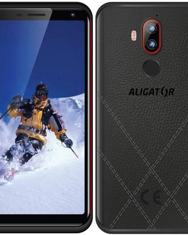 Mobilný telefón Aligator RX800 eXtremo čierny/červený