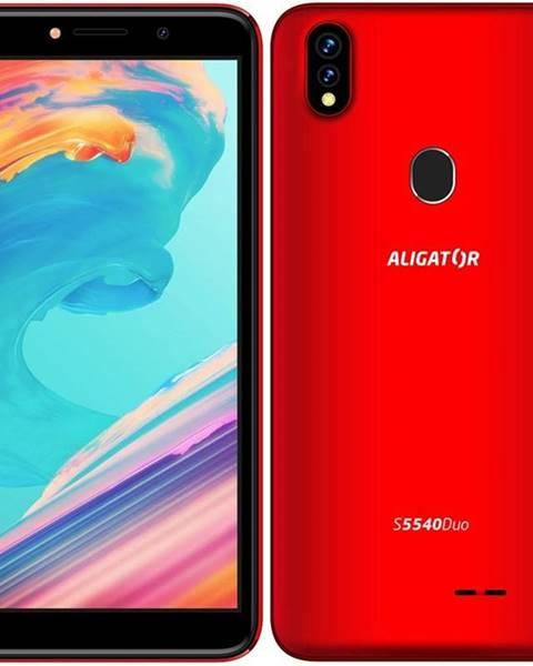 Aligator Mobilný telefón Aligator S5540 Dual SIM červený