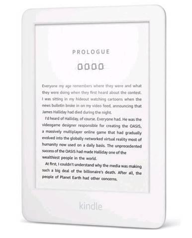 Čítačka kníh Amazon Kindle Touch 2019 s reklamou biela