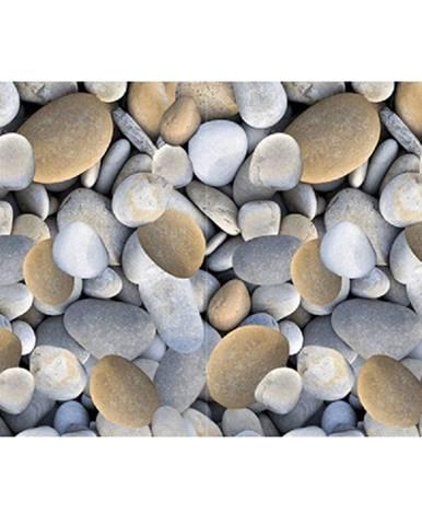 Koberec viacfarebný vzor kamene 80x200 BESS