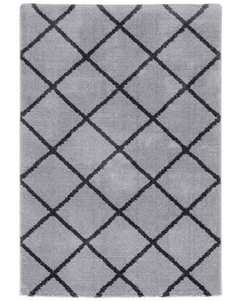 Möbelix Tkaný koberec Montreal 3, 160/230cm, sv.šedá