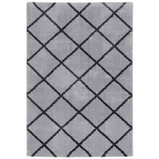Tkaný koberec Montreal 3, 160/230cm, sv.šedá