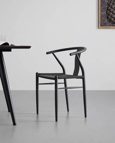 Jedálenská stolička Monika Čierna