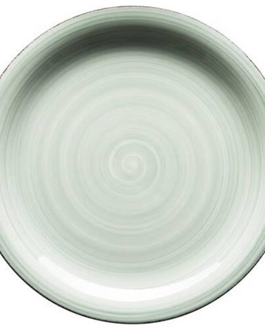 Mäser Keramický plytký tanier Bel Tempo 27 cm, zelená