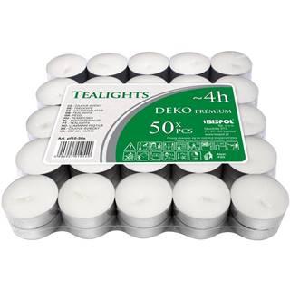 Sada čajových sviečok Deko premium, 50 ks
