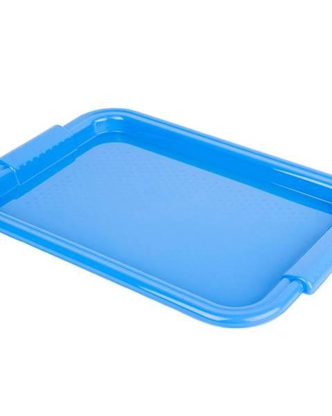 Tontarelli Tontarelli Servírovacia tácka 45 x 30 cm, modrá