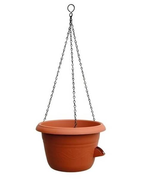 Plastia Plastia Samozavlažovací závesný kvetináč 30 cm