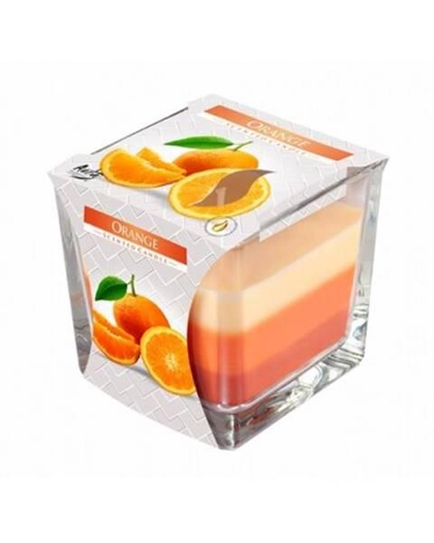 Berlinger Haus Sviečka v skle Dúha Pomaranč, 170 g