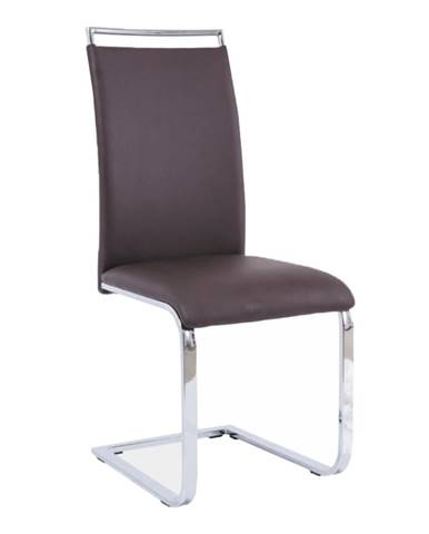Jedálenská stolička tmavohnedá BARNA NEW poškodený tovar