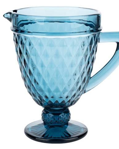 Retro džbán na vodu/na víno 1150ml modrá VERITAS