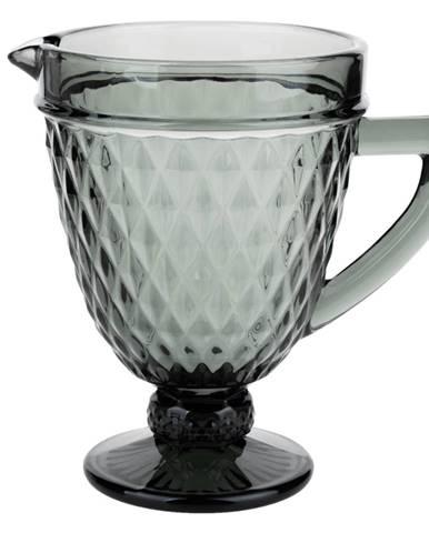 Retro džbán na vodu/na víno 1150ml sivá VERITAS