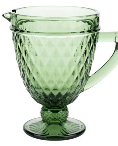 Retro džbán na vodu/na víno 1150ml zelená VERITAS