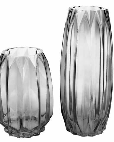 Set dvoch váz sivá/sivá ELYSES TYP 2