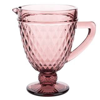 Retro džbán na vodu/na víno 1150ml červená VERITAS