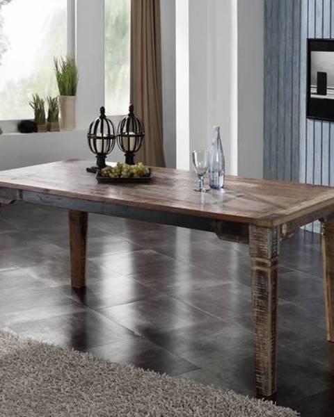 Bighome.sk OLDTIME Jedálenský stôl Classic 180x90 cm, staré drevo