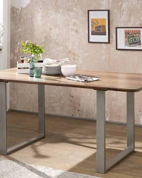Bighome.sk ROUND Jedálenský stôl 177x90 cm, hnedá, palisander