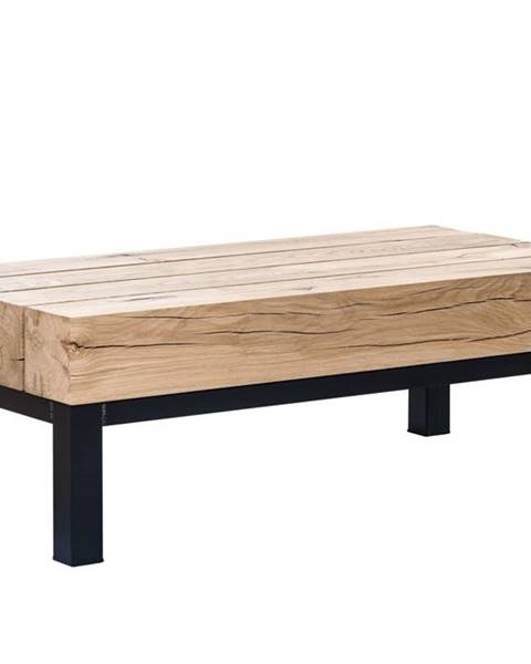 Bighome.sk TIROL Konferenčný stolík 160x59 cm, svetlohnedá, dub
