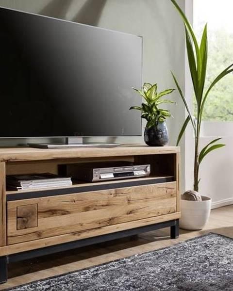 Bighome.sk TIROL TV stolík 120x56, prírodná, dub
