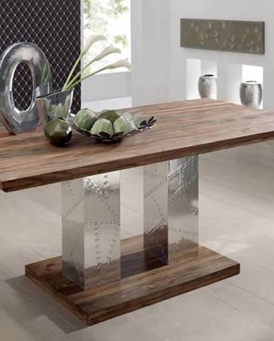 PLAIN SHEESHAM jedálenský stôl 178x90 palisander, venice beach, lakovaný