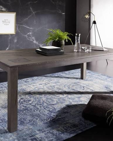 TAMPERE Jedálenský stôl 180x100 cm, dub, dymová