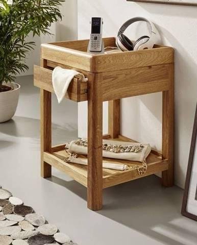 VIENNA Príručný stolík 40x60 cm, dub