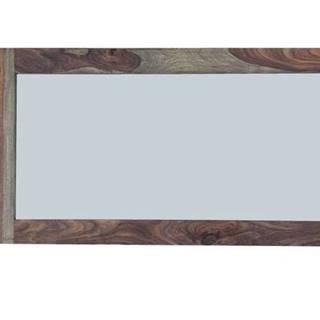GREY WOOD Zrkadlo 130x70 cm, palisander