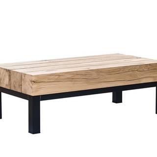 TIROL Konferenčný stolík 160x59 cm, svetlohnedá, dub